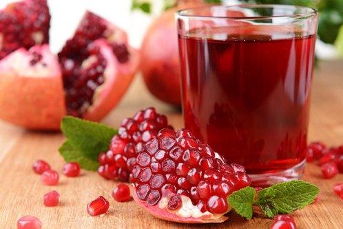 pomegranate-pomegranate-juice